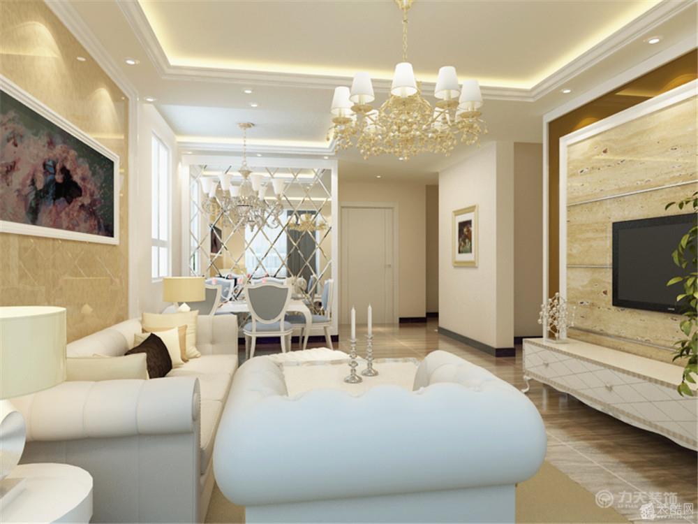 两室两厅一卫欧式装修效果图