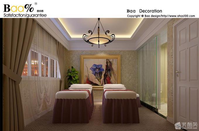 空间类型:欧式风格 美容院 房屋面积:188 装修方式:半包 工程造价:60万 美容院装修总体色调上多采用暖色中的浅色调,以便让顾客有舒适的感觉;店内所使用的物品或产品应多采用瓷白色或常用色,给客人以专业的感觉,美容院的装修风格还要富于现代情调