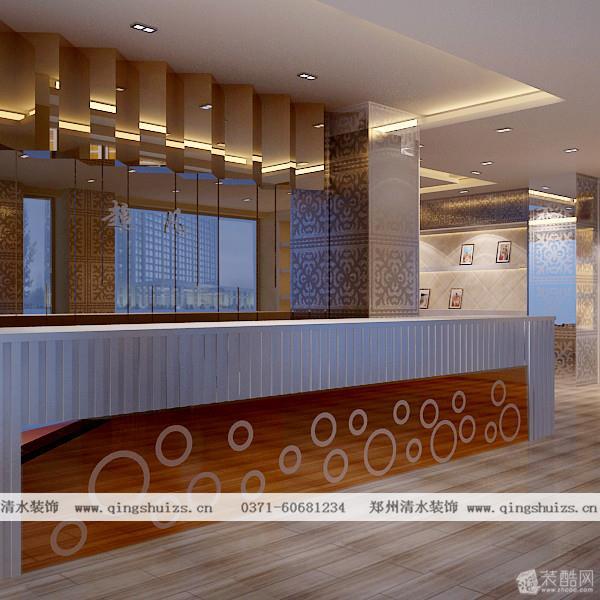 超凡婚纱摄影机构装修设计效果图  外立面,展示大厅,背景墙
