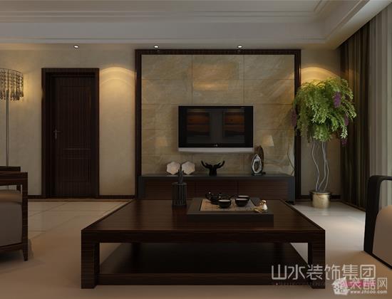 客厅 客厅电视背景墙造型设计效果图