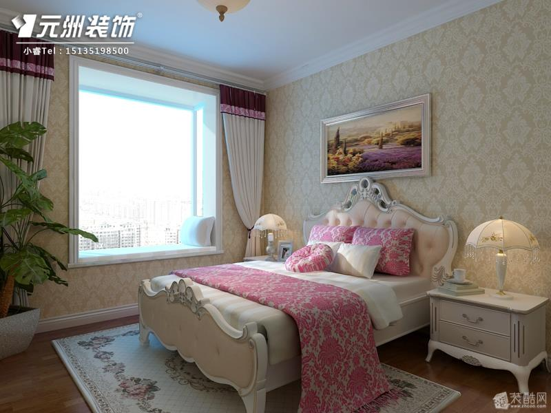 壁紙臥室暖色溫馨效果圖