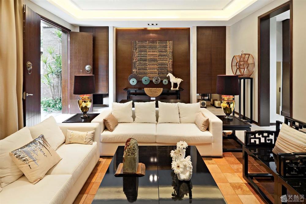 别墅户型优雅中式风格设计