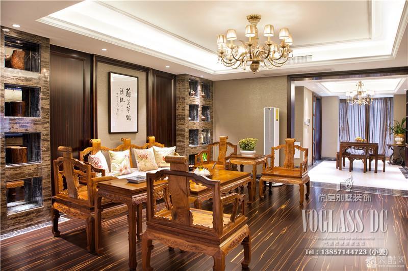 【杭州尚层装饰】天意家园-现代中式