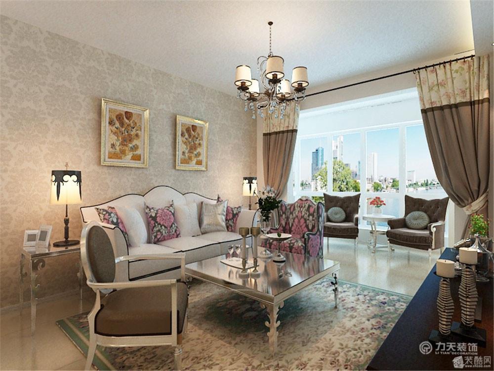 两室两厅一卫欧式装修效果图_两室两厅一卫欧式装修_3
