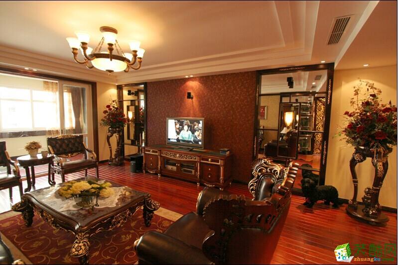 中国的国乐大师之家140平米简约中式