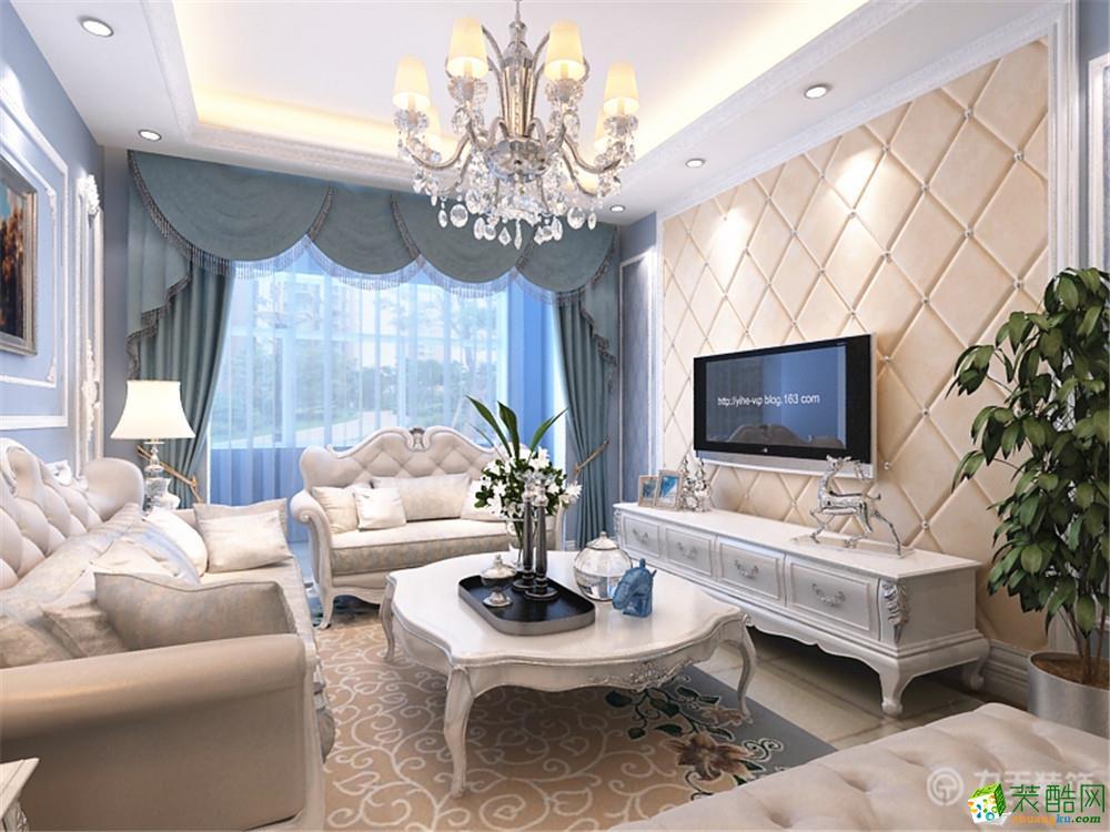 两室两厅一卫欧式装修效果图_两室两厅一卫欧式装修_4