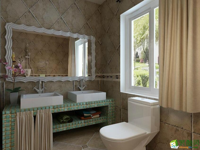 卫浴装修效果图_ 卫浴装修设计图片_装酷网装修案例