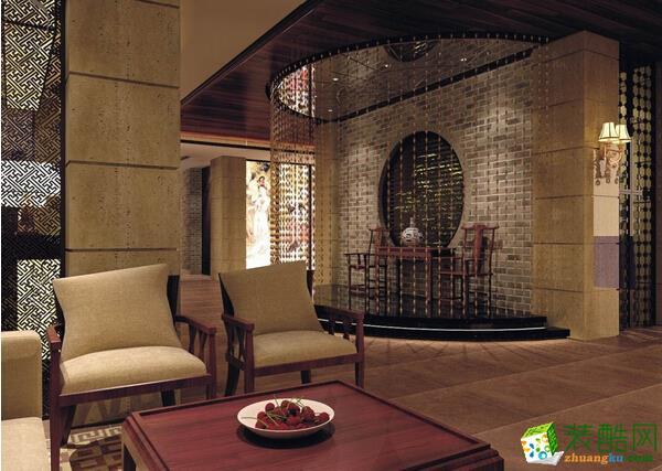 足浴会所装修 中式风格