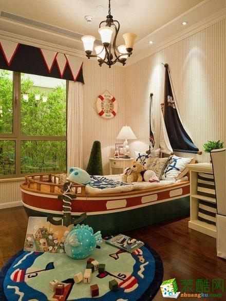美国儿童房装饰