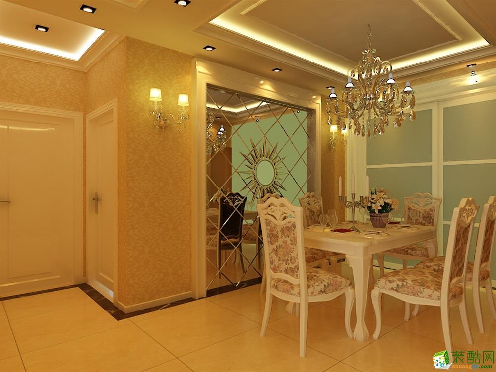 首页 装修案例 华润置地110平简欧风格设计 欧式风格 三室两厅两卫