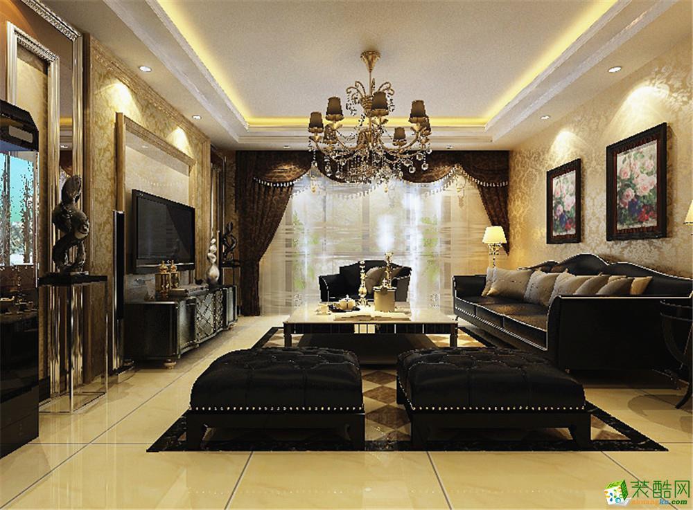两室两厅两卫欧式装修效果图