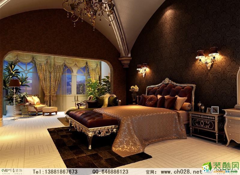 卧室 中海龙湾半岛-欧式豪华装修