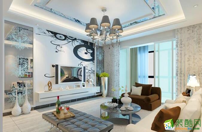 三室两厅一卫现代装修效果图