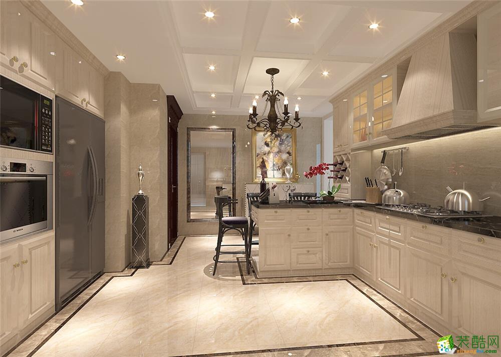 静安晶华园公寓户型装修简欧风格设计 厨房图片