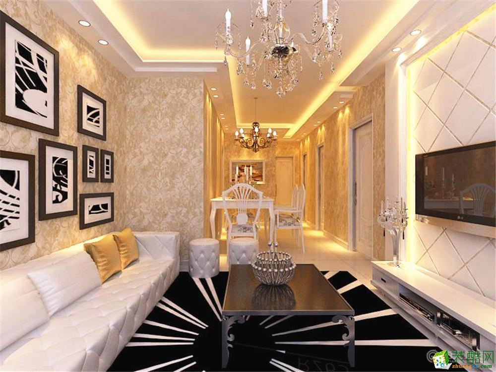 92三室两厅欧式装修效果图