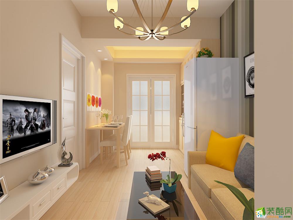 客厅 力天装饰-一商校60平米