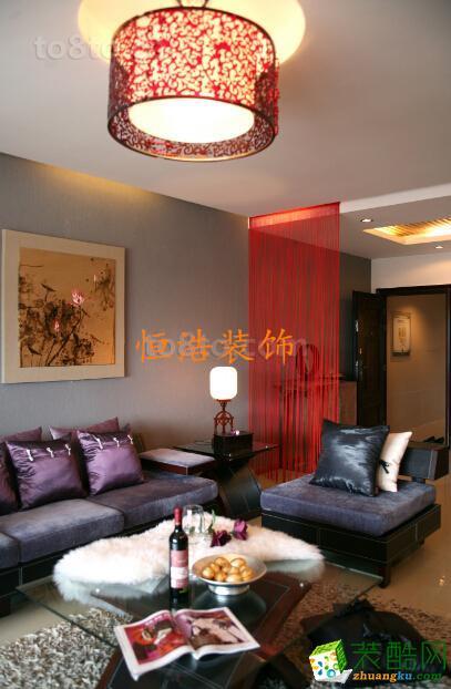 望庭国际现代中式吊顶