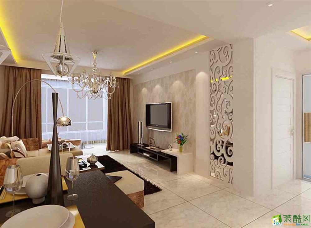 两室两厅一卫现代装修效果图_两室两厅一卫现代装修_4
