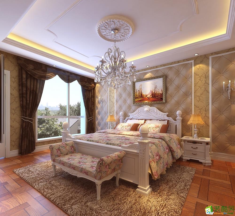 床头背景墙 万科别墅花园(法式)