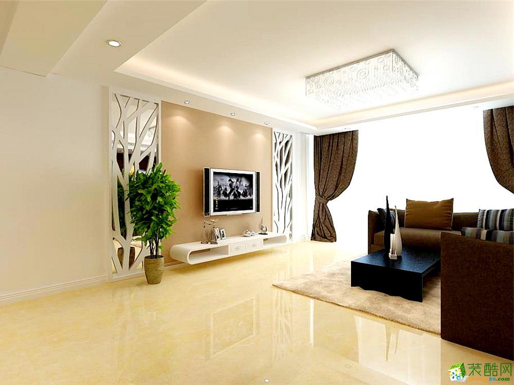 客厅 客厅说明:整个客厅方案运用轻装修重装饰的原则