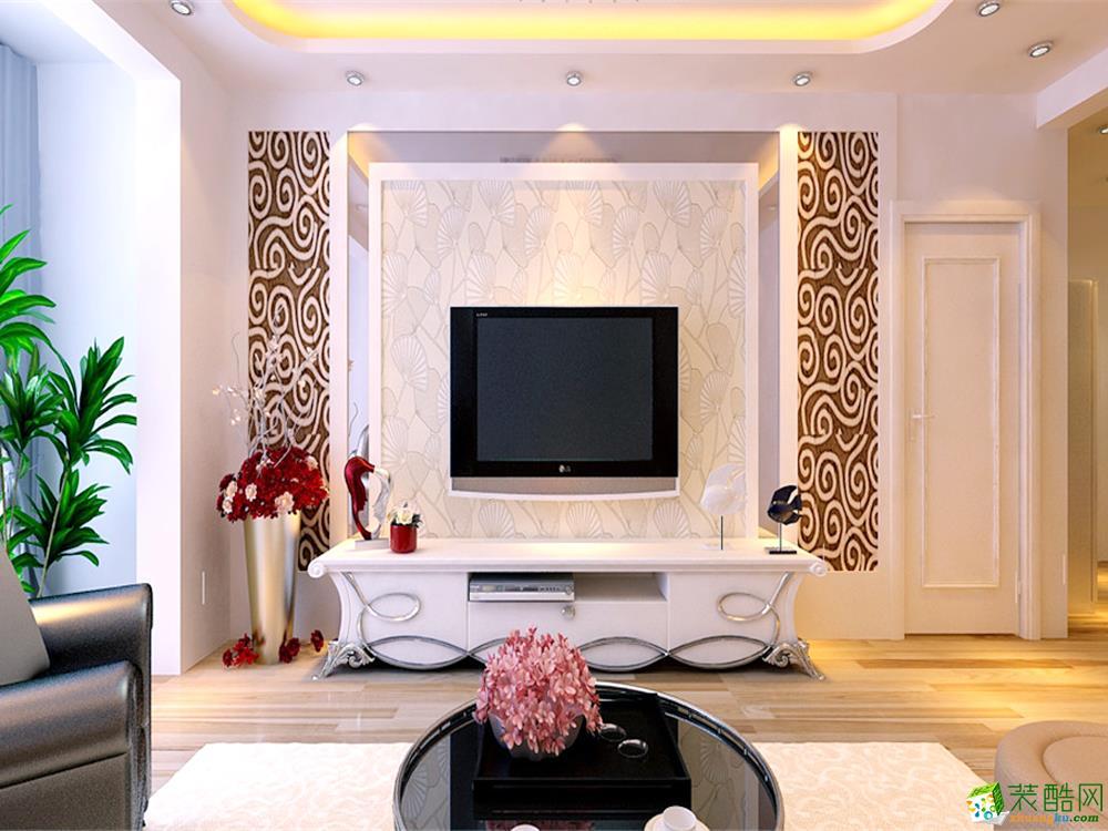 客厅装修效果图_ 客厅装修设计图片_装酷网装修案例