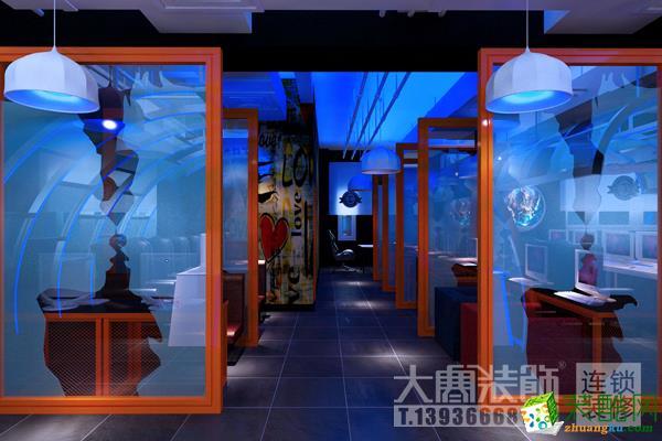 哈尔滨大寒装饰――云景网咖效果图