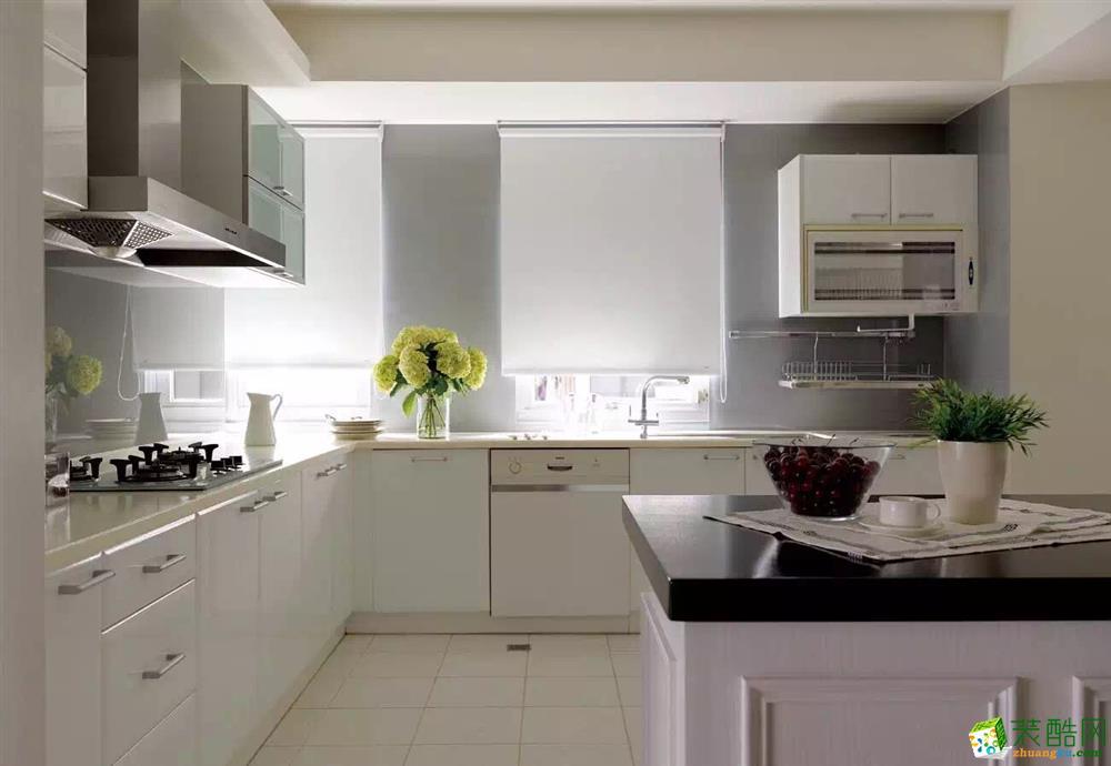 厨房 上海浦东170平欧式极简风格装修更实用更流行
