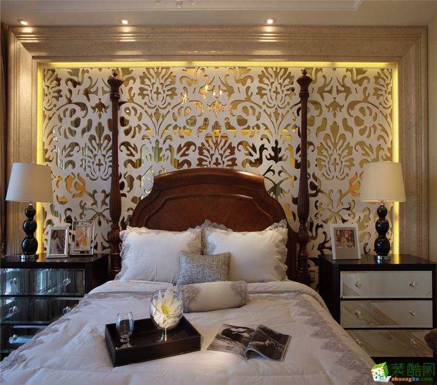 床头背景墙效果图