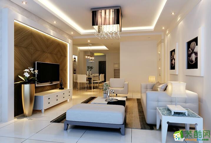 客厅 现代简约婚房装修效果图