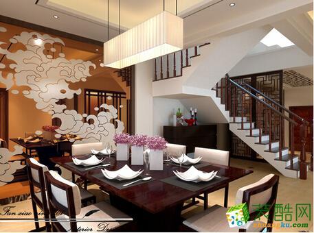 众合东苑200平方米中式风格户型20万元