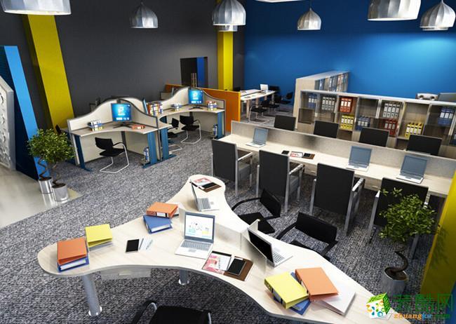 >> 开放式办公室设计装修