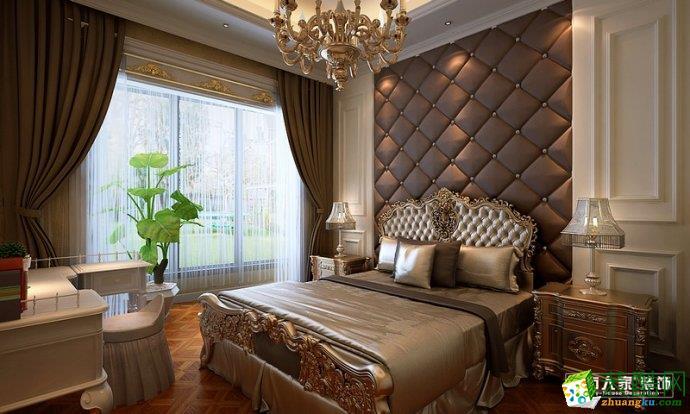 淄博别墅装修大户型装修设计公司城市人家新古典欧式风格