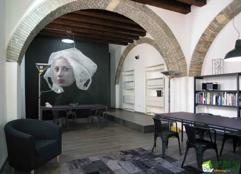 意大利复古办公室装修