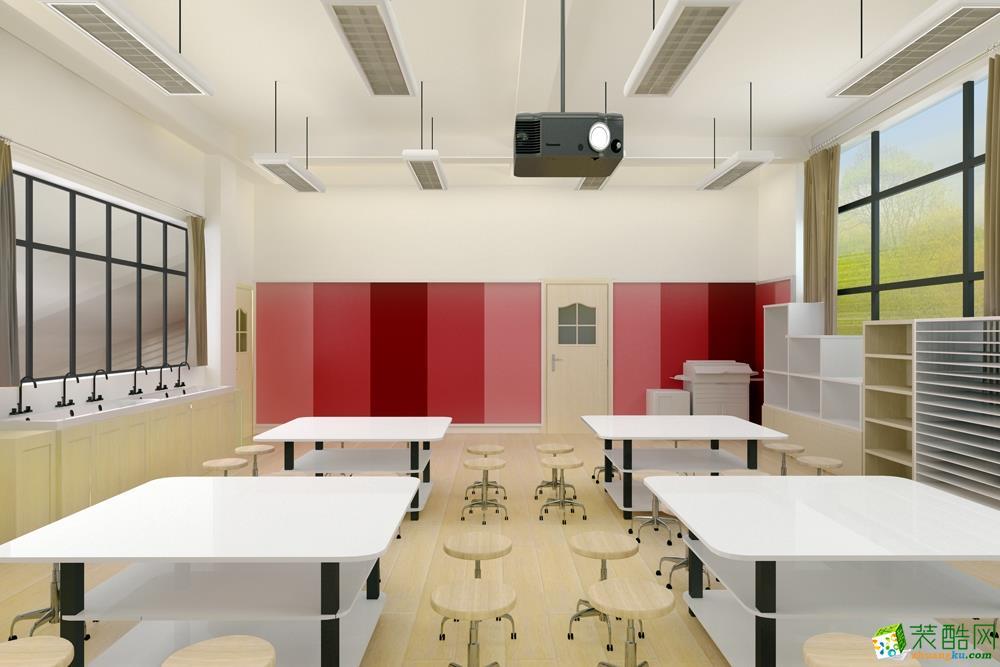 培训学校会议室装修效果图
