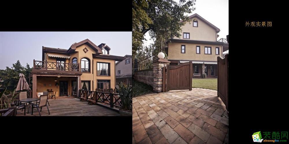 美式 别墅花园图片