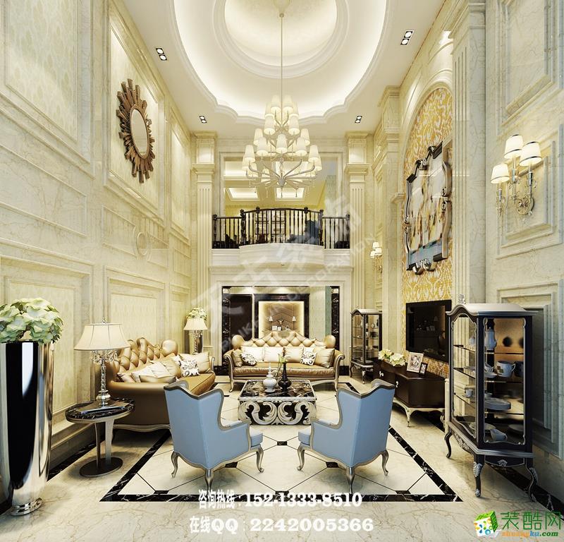 空间类型:欧式风格 跃层住宅 房屋面积:220 装修方式:半包 工程造价:15万 本套设计的业主为一个幸福的四口之家,男主人原为温州商人,多年的商场阅历让他对生活的需求有着自己独到的理解,小区特殊的地理位置能完整的将渝中半岛收入眼底。设计风格定位为欧式风格,重点的设计位置我们一致确定为客厅公共区域和主卧。