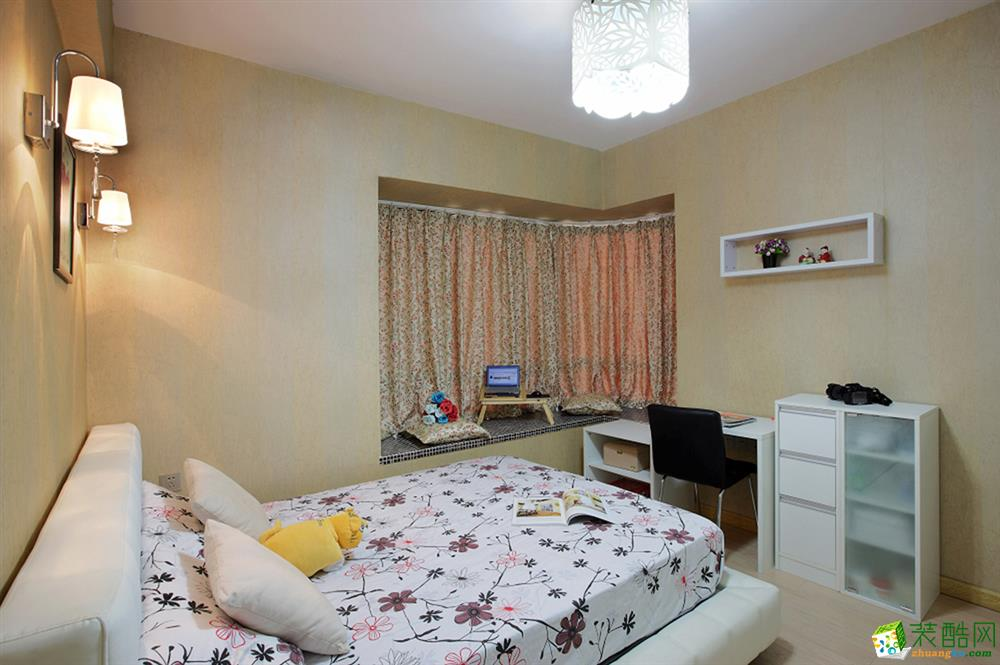 卧室 卧室装修效果图 12w搞定现代简约小三房