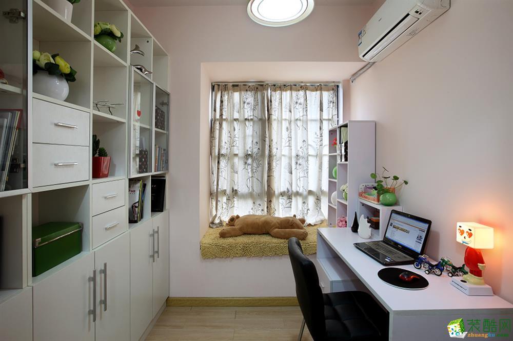 现代风格三室装修效果图_装酷网装修效果图