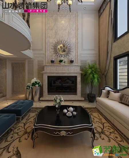 客厅 合肥万科森林公园装修效果图--山水装饰设计