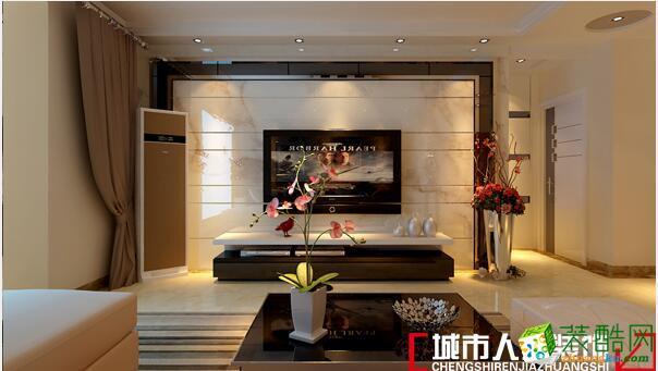 淄博裝修公司城市人家主任設計師張鵬—鴻嘉星城現代風格案例