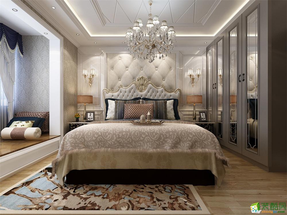 首页 装修案例 华城领秀-93㎡ 欧式风格 两室一厅一卫