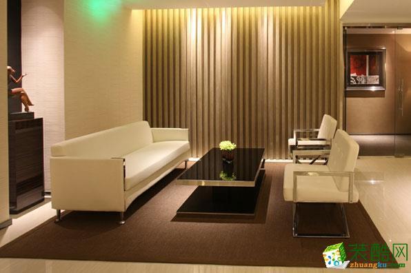 【宾治装饰】舒适时尚办公室设计装饰案例