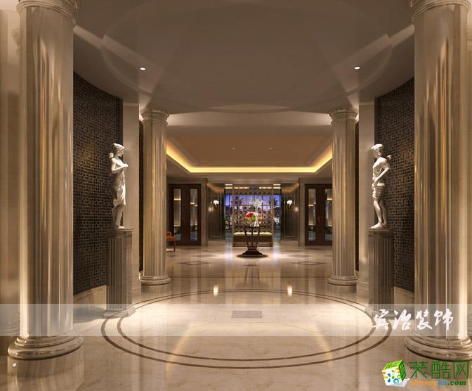 【宾治装饰】美式风格售楼部设计装修效果 【宾治装饰】美式风格售楼部设计装修效果