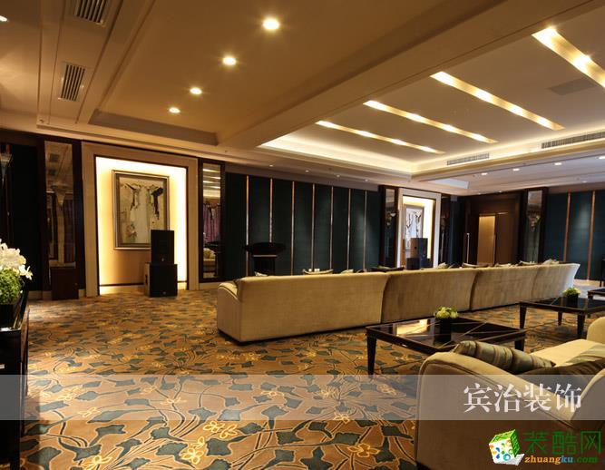 【賓治裝飾】現代風格售樓部設計裝飾作品