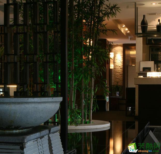 【宾治装饰】中式风格餐饮设计装修案例 中式风格 酒楼餐厅