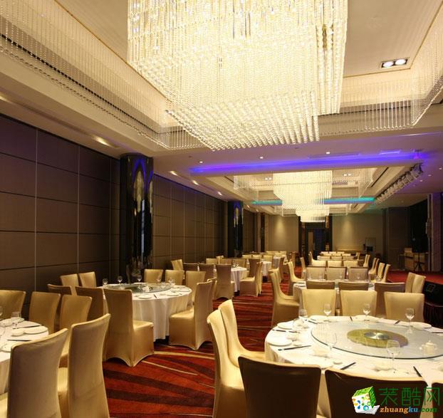 【宾治装饰】俊江南中式风格餐饮室内设计装饰案例