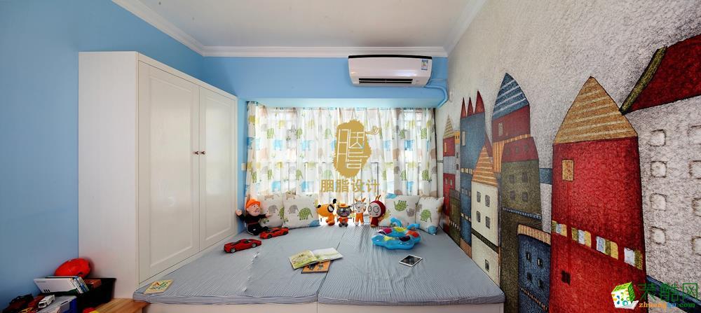 中式儿童房装修图