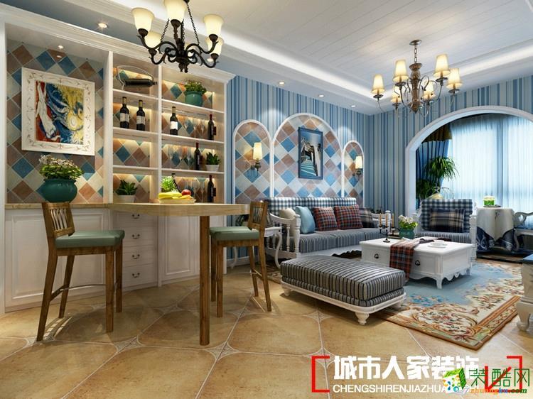 淄博新房装修城市人家190平米之欧式古典精品案例