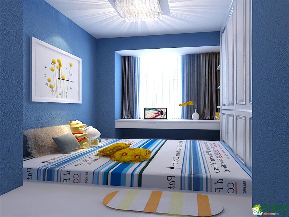 首页 装修案例 碧桂园89㎡-简欧风格 欧式风格 两室两厅一卫