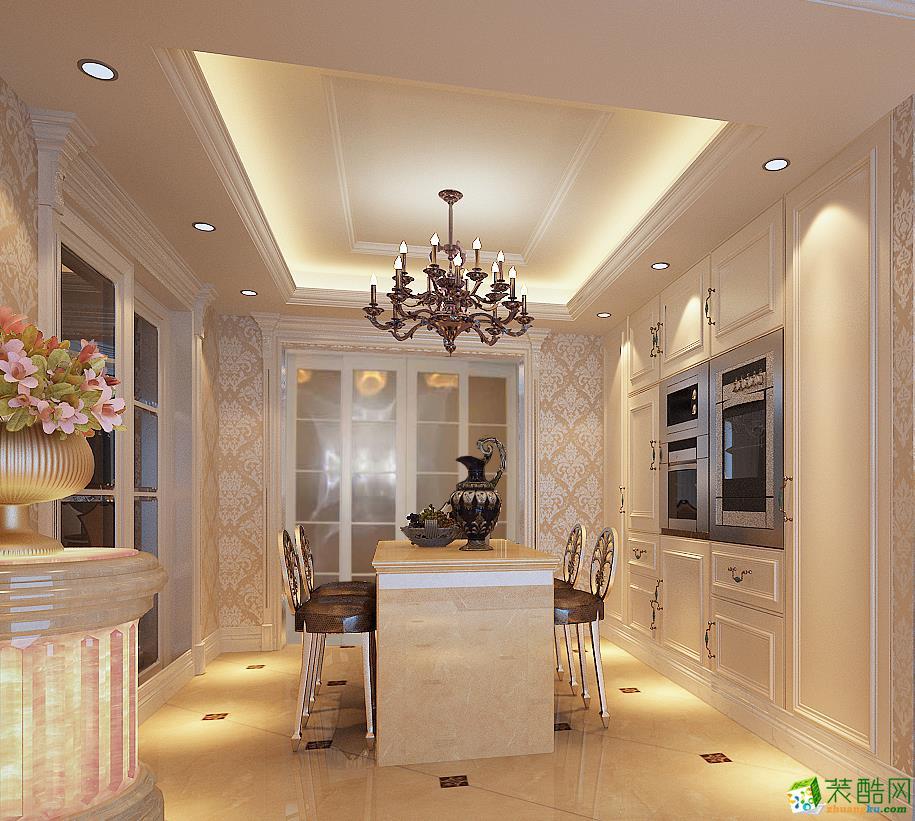 雅居乐御宾府339平五室两厅2为简欧风格客厅